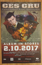 Music Poster Promo Ces Cru - Catastrophic Event Specialists