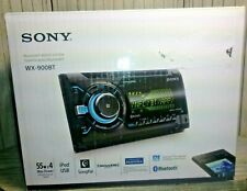 """New - Sony WX900BT Double Din CD Player Radio Bluetooth USB AUX  """"FREE SHIPPING"""""""
