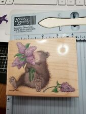 New ListingRubberstamps Gruffies Stampabilities Lavendar Bouquet