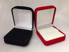 Velvet Ring or Body Jewelry Gift Box - choose Red or Black
