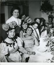 La Sainte-Catherine chez Jeanne Lanvin, 1955, vintage silver print Vintage silve