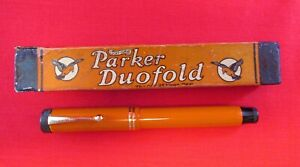 Parker Duofold Senior Red...Restored
