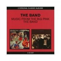 THE BAND - CLASSIC ALBUMS (2IN1) MUSIC FROM THE BIG PINK & THE BAND 2 CD NEU