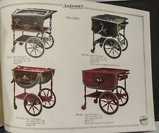 Original c1920 Trade Catalogue AMFURNCO Novelty Furniture TEACARTS Phone Cabinet