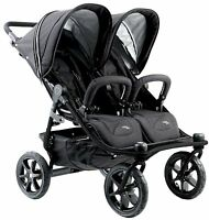 Valco Baby Twin Tri Mode Duo X Compact All Terrain Double Stroller Night NEW