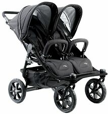 Valco Baby Twin Tri Mode Duo X Compact All Terrain Double Stroller 2016 Night