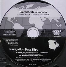 New 2003 - 2006 Cadillac Escalade Navigation DVD Map Update p/n: 22846887 10.4