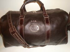 """ROOTS 19"""" BROWN  BANFF DUFFLE  BAG WITH HORWEEN LEATHER TRIM +1"""