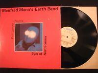 Manfred Mann's Earth Band - Eyes of Nostradamus - 1981 Vinyl 12'' Single/ Prog P