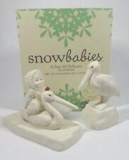 "Snowbabies by Department 56 ""A Pair of Pelicans"" Bisque Decor Figurine (2013-14)"