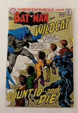 The Brave & The Bold #88 Batman and Wildcat DC 1970 Neal Adams Higher Grade