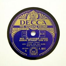 "LEW STONE & HIS BAND ""When The Guardsman Started Crooning"" DECCA F5811 [78 RPM]"