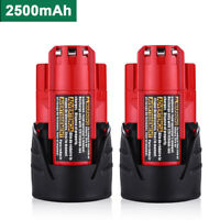 2-Pack For Milwaukee 48-11-2401 M12 12 Volt LITHIUM ION Extended Replace Battery