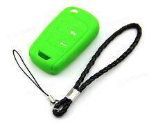 Green Silicone Case Cover For Chevrolet Epica Tosca Holden Aveo Remote Flip Key