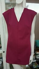 Mossman 'Lady Godiva' dress.Sz10.Stretch ribbed jersey.Excellent condition