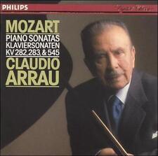 Claudio Arrau, Mozart: Piano Sonatas, KV 282, 283 & 545, Excellent