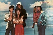 Vintage 1978 Fleetwood Mac Warner Bros. Records Promotional Poster Rumours Era