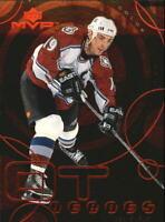 1998-99 Upper Deck MVP OT Heroes #OT15 Joe Sakic - NM-MT