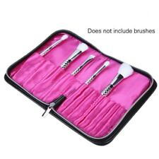 Makeup Cosmetic Brush Holder Leather Organizing Bags Travel Brushes Storage Case