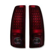 RECON 264173RBK Chevrolet Silverado GMC Sierra 99-07 Red-Smoked Tail Lights LED