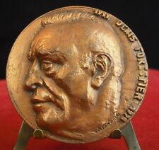 Médaille Denis Forestier Instituteur Président MGEN 1978 par Coatmarini Medal 铜牌