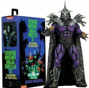 Super Shredder Teenage Mutant Ninja Turtles II Secret Of Ooze action figure NECA