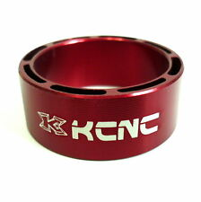 gobike88 KCNC Hollow Design Headset Spacer, 14mm, Red, Made in Taiwan 651