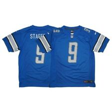Matthew Stafford Nike Detroit Lions Home Blue Game Jersey YOUTH XL (18)