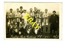 Old RP Postcard.Tinsley Park Colliery Football Club Team 1916