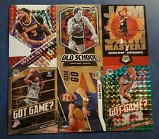 2019-20 Mosaic Basketball Inserts with Green Mosaic Prizms Legends You Pick