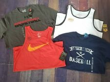 NEW NWT LOT 4 Pieces Under Armour Nike Tank Top Champion Gym Workout School