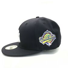 best service adcde aa562 New York Yankees World Series 1996 New Era 59Fifty MLB Navy Blue Hat Fitted  Cap