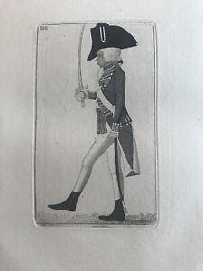 Orig. 19thC  John Kay Engraving Ensign Macdougal