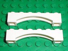 2 x Arche LEGO white Arch ref 92950 / Set  7753 7188 10198 75144 10228 41055 ...