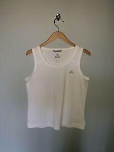 Women's ADIDAS Climalite Stretch Training Gym Vest Tank Top Size U.K 14-16