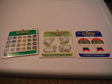 Vintage Redi Stix Church Miniatures, Sheep, & Welcome Seals Stickers