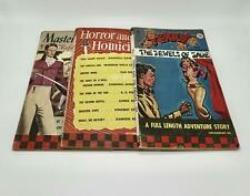 New listing Checkerbooks 1949 Vtg Pb Lot/3 Terry/Pirates Pbo, Horror & Homicide, Master/Arms