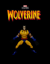 Marvel Legends Apocalypse: WOLVERINE Yellow Unmasked Custom X-Men Comics Figure