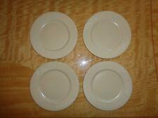 Wedgwood ~ FOUR (4)  STONEWEAVE RATTAN SALAD PLATES ~ Stoneware