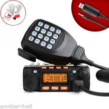 Dual Band 25W Pocket Mini Mobile Radio Transceiver Walkie Talkie in Car OEM