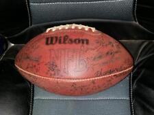 1986 Los Angeles Raiders Autographed Football Lots of Signatures Hilger Seale
