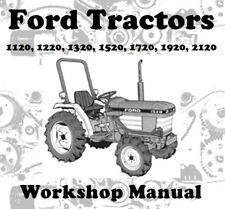 FORD TRACTOR 1120 1220 1320 1520 1720 1920 2120 WORKSHOP MANUAL CD OR DOWNLOAD
