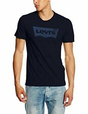 Caballeros Levi's Strauss camiseta ala de Murciélago original Levis logo Indigo S