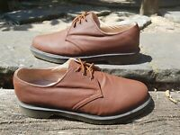 Dr Martens Lester Canvas Mens Brown Tan Casual Shoes Size UK 9 3 eye ref14P2