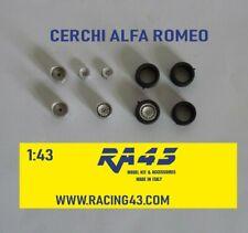 1/43 Cerchi Wheels Alfa Romeo