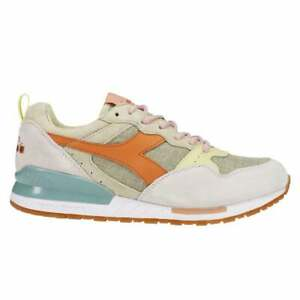 Diadora Intrepid H Desert Lace Up  Mens  Sneakers Shoes Casual   - Green - Size