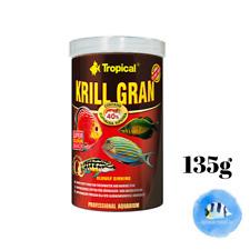 TROPICAL Krill Gran 135g Sinking Granulat Carnivores Marine Freshwater Fish Food