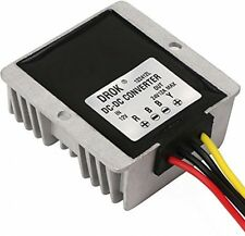 DROK® Waterproof DC-DC Boost Converter 12V to 24V 12A 288W Step-up Volt Car