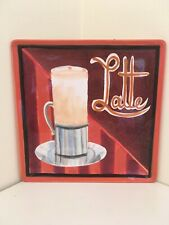 """Decorative Geoffrey Allen """"Latte� Plate"""