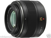 NEW PANASONIC Lumix G Micro 4/3 LEICA DG SUMMILUX 25mm F1.4 ASPH H-X025*Offer
